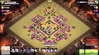 Clash Of Clans /Les 3 plus belle attaques en gdc !