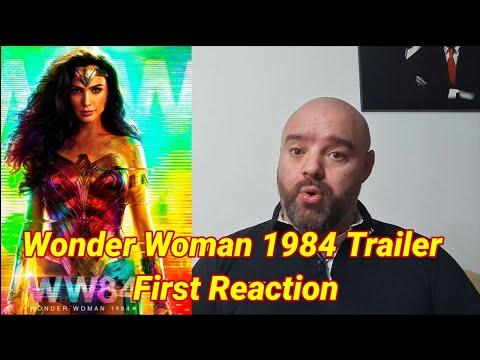 Wonder Woman 1984 Trailer First  Reaction
