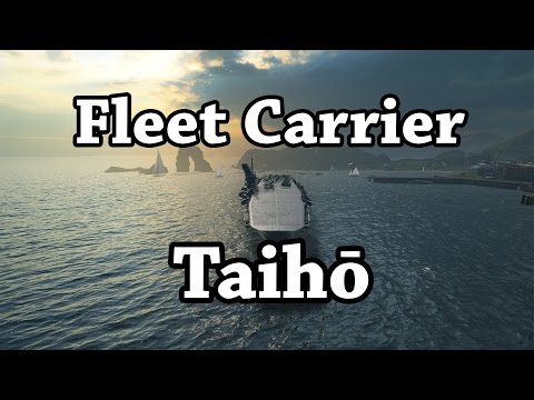World of Warships: Fleet Carrier Taihou - 10 Ships Sunk