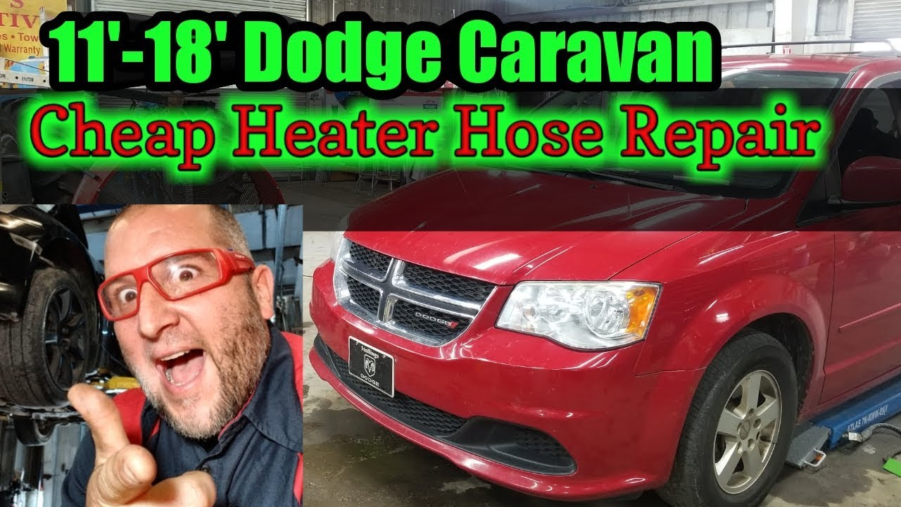 hight resolution of 2013 dodge caravan cheap heater hose repair diy