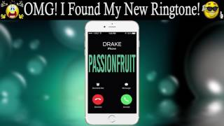 "Set this popular theme of drake's ""passionfruit"" as your ringtone: http://smarturl.it/passionfruitdraked one the best song ringtones 2017, for ..."