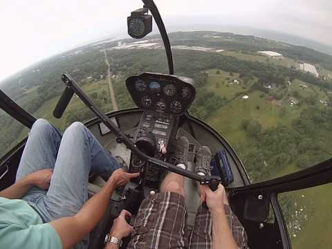 R44 Helicopter Training 9.8 Hours