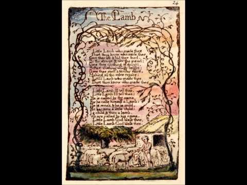 William Blake's Songs Of Innocence - The Lamb