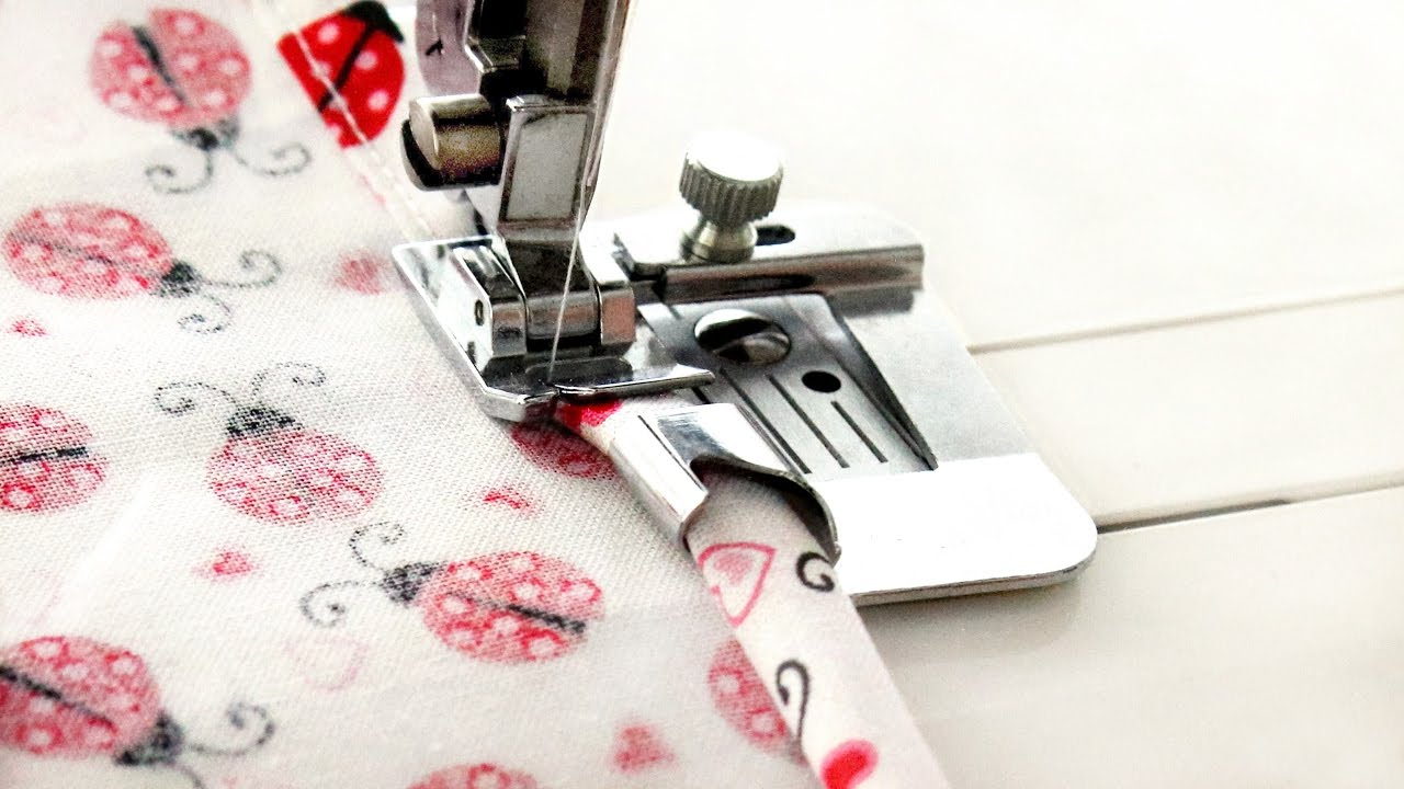 how to use a wide hem foot quick sewing tips and tutorial from linda forager at sewing bee. Black Bedroom Furniture Sets. Home Design Ideas