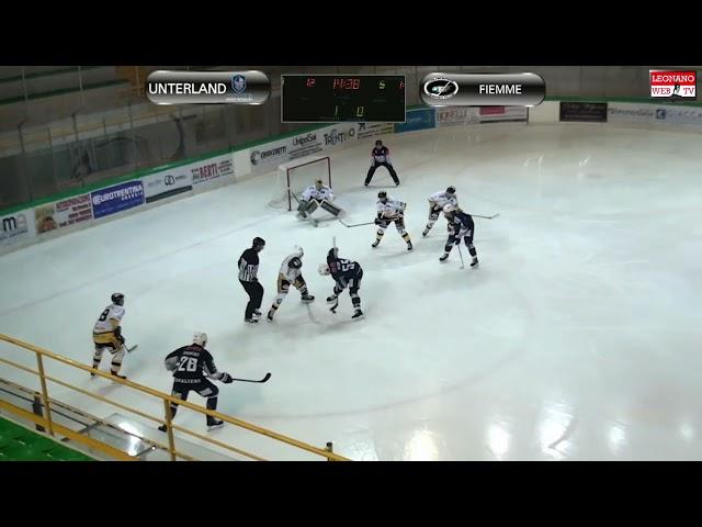HC Unterland vs HC Fiemme – IHL (gara 2 quarti di finale)