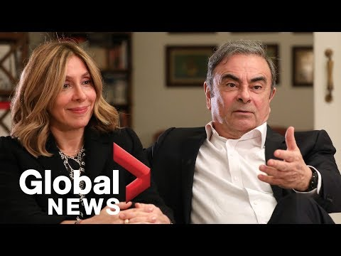 Ex-Nissan Boss Carlos Ghosn And Wife Give Interview After Fleeing To Lebanon