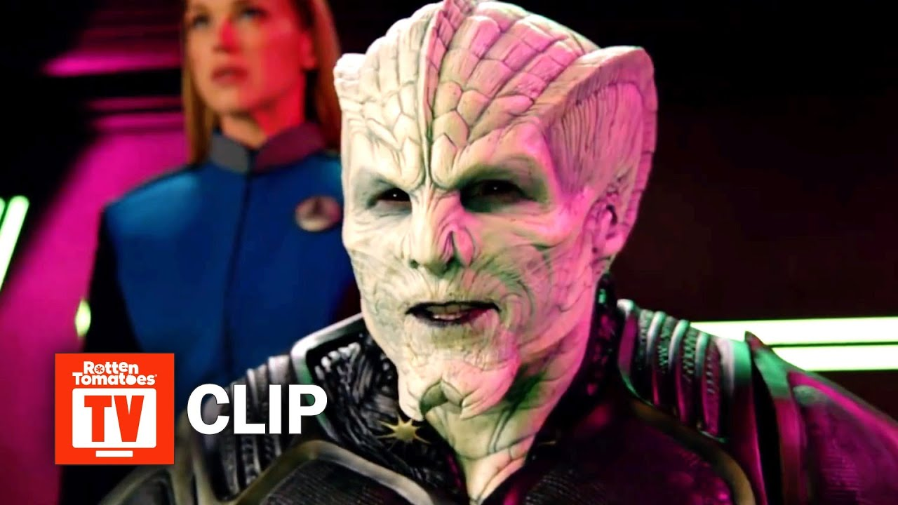 Download The Orville S02E08 Clip   'The Crew Battle The Kaylon In Space'   Rotten Tomatoes TV