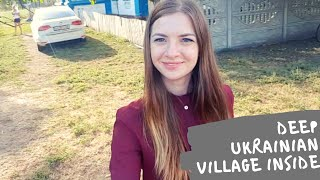 Inside of very remote village in Ukraine. How people live