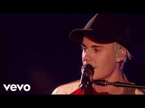 Justin Bieber - Love Yourself & Sorry - Live at The BRIT Awa