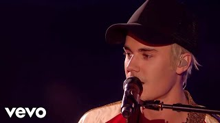 Justin Bieber - Love Yourself & Sorry - Live at The BRIT Awards 2016 ft. James Bay thumbnail