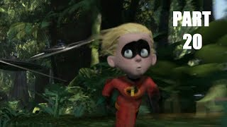 The Incredibles Video Game: Walkthrough Part 20 - 100 Mile Dash - Mission 13