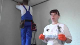 видео звукоизоляция натяжных потолков