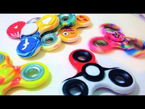 DIY : 6 Hand Spinner Personnalisés (TUTO)