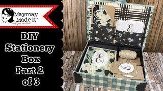 DIY Monogram Card and Tag Gift Set Part 2 of 3