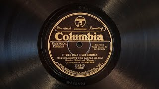 It Was Only a Sun Shower • California Ramblers (Victrola Credenza)