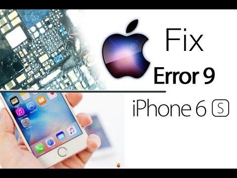 Fix iPhone 6S Error 9 iTunes Restore Hardware Repair / reparação de erro 9  | Selekt
