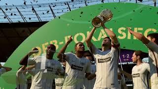 FIFA 18 DFB-Pokalfinale 2017/18: Bayern München 1:2 Eintracht Frankfurt - SIEGEREHRUNG
