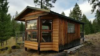 Off-grid Summer Guest House | Tiny House Build & Consulting | Republic, Wa
