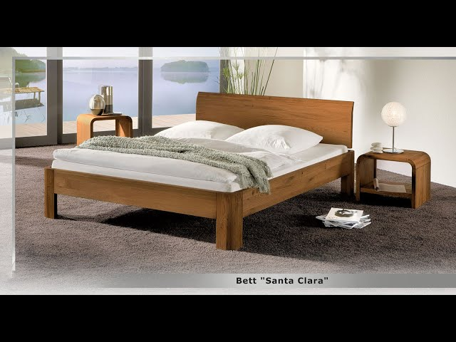 bett in z b 120x200 cm gr e aus massivholz santa clara. Black Bedroom Furniture Sets. Home Design Ideas