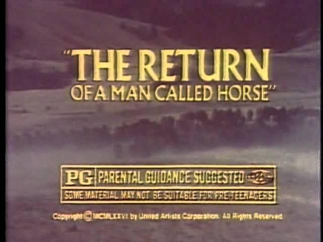 Return of a Man Called Horse 1976 TV trailer