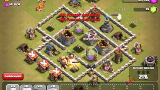 Clash of clan:best tactics for clash of clans (part 1)