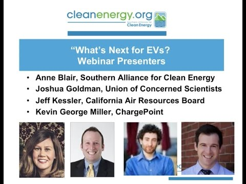 Webinar: What's Next for Electric Vehicles?
