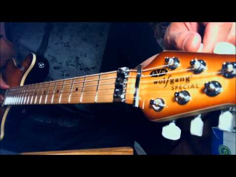 How to tune the EVH Floyd Rose D-Tuna