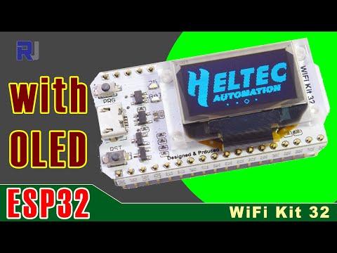 Using Heltec ESP32 OLED Wifi Kit