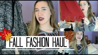 HUGE Fall Fashion Haul 2014 Thumbnail