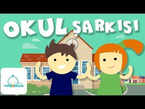Okul şarkısı Radyo Bebek çocuk şarkıları 2017 Youtube