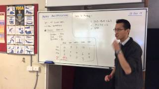 Matrix Multiplication (1 of 3: Basic Principles)