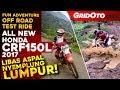 Honda CRF150L 2017 l Adventure Off Road Test Ride l GridOto