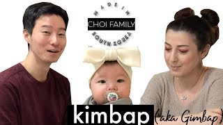 Kimbap  yiyelim mi?⎟aka Gimpap⎟ 국제커플 [Choi Family #55]
