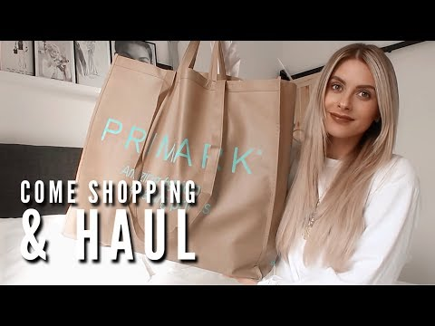 8827e1ba0 Come Shopping With Me & Haul – PRIMARK, TOPSHOP, H&M | Fashion Influx –  Shopping time