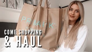 Come Shopping With Me & Haul - PRIMARK, TOPSHOP, H&M | Fashion Influx
