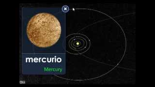 El sistema solar - The solar system  - Lesson 1