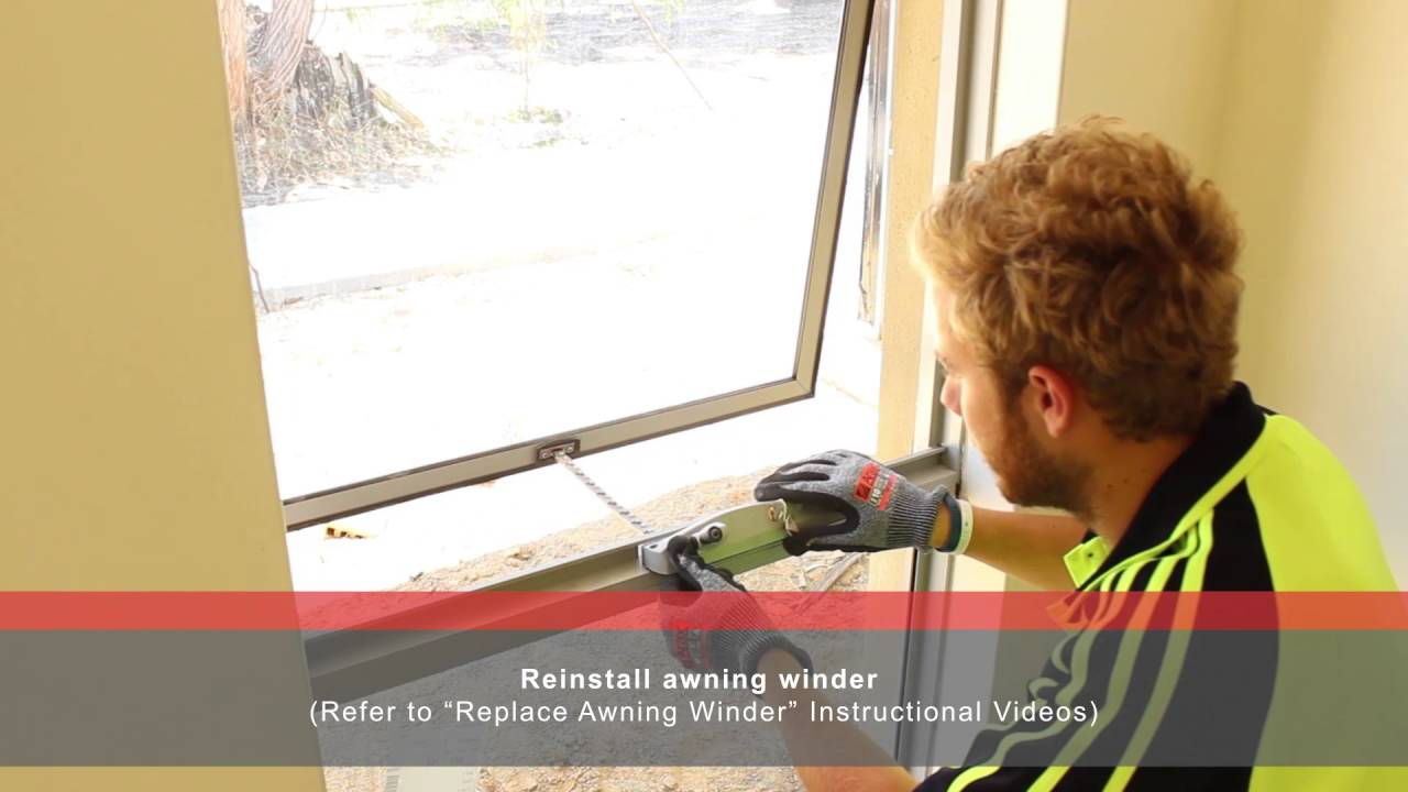 How To Replace Awning Sash With Jason Windows Youtube