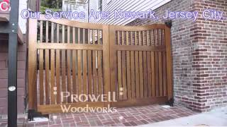 Wood Driveway Gates Nj