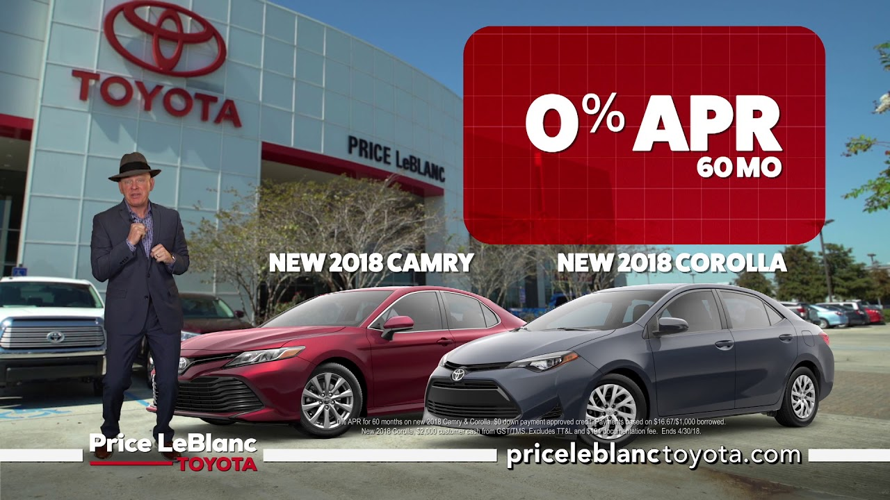 Awesome Price LeBlanc Toyota   30 Days Of Deals   Car Specials