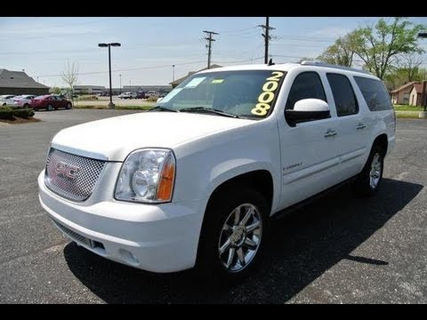 2008 gmc yukon xl denali 6 2 v8 start up and full tour. Black Bedroom Furniture Sets. Home Design Ideas