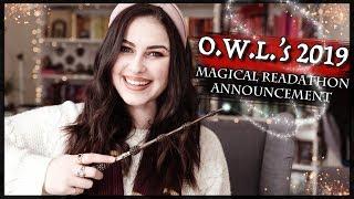 O.W.L.'s MAGICAL READATHON 2019 ANNOUNCEMENT | Book Roast