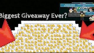 Biggest Giveaway EVER? | Growtopia |