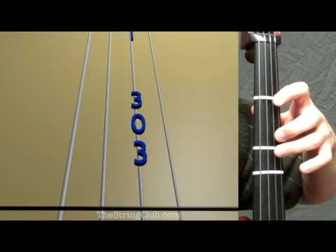 Learn Amazing Grace  Ver 2 on Cello - How to Play Tutorial