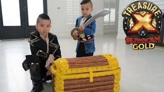 Hunting Treasure X Sunken Gold Pirate Fun With CKN