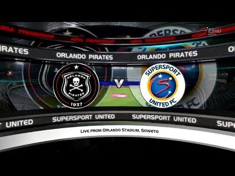 Absa Premiership 2017/2018 - Orlando Pirates vs SuperSport United