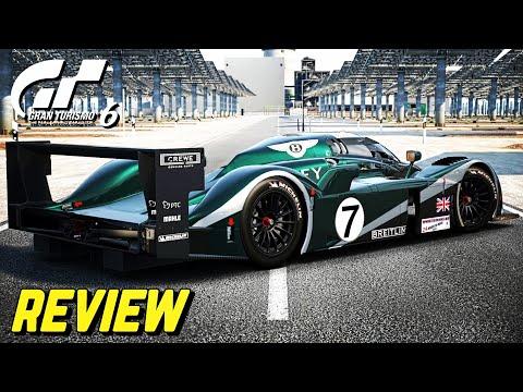 Gran Turismo 6 - Bentley Speed 8 REVIEW