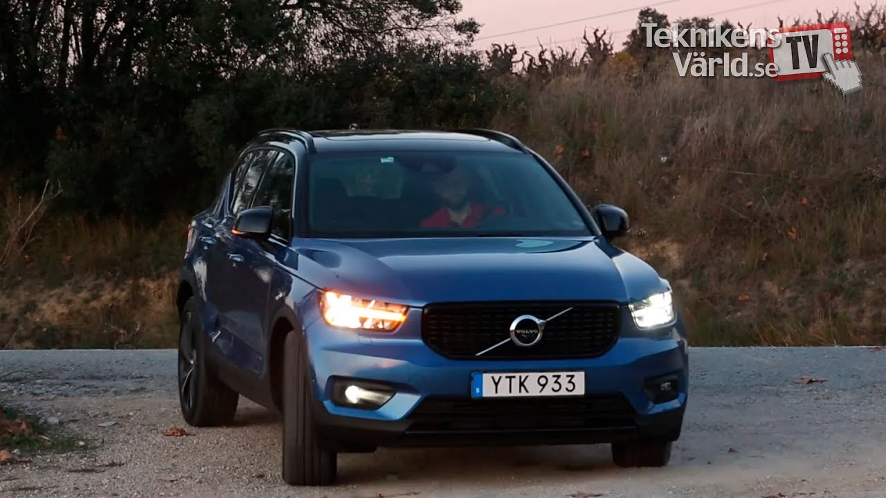 volvo xc40 test drive swedish youtube. Black Bedroom Furniture Sets. Home Design Ideas