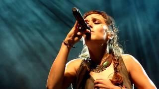 Zaz - La chanson des vieux amants (extrait) - Brussels Summer Festival 14/08/2011
