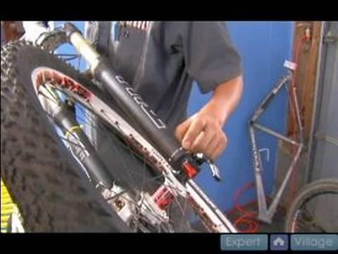 Mountain Bike Suspension Parts Maintenance Adjust Damping