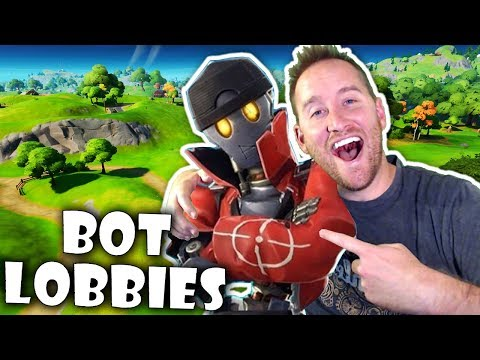 Play Full BOT Lobbies With Fortnite Custom Matchmaking - Mustard Plays